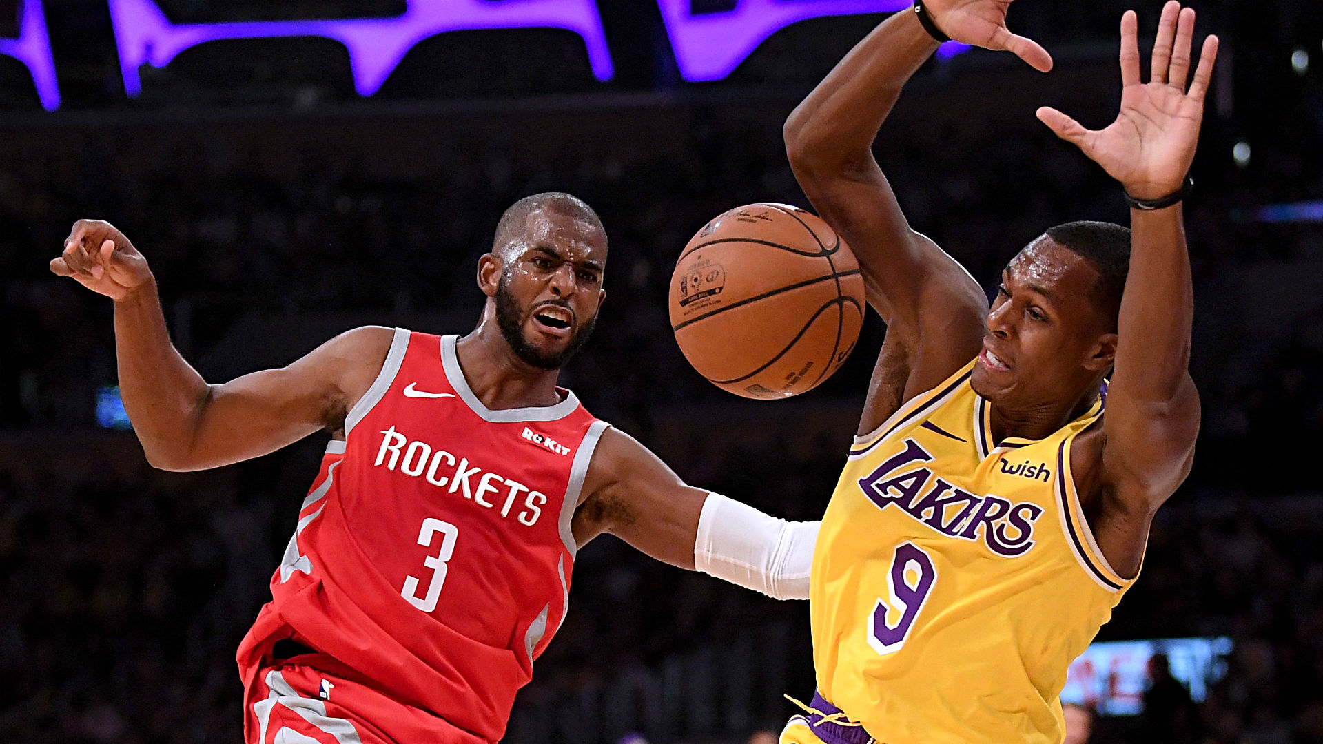 Houston Rockets 124-115 Los Angeles Lakers