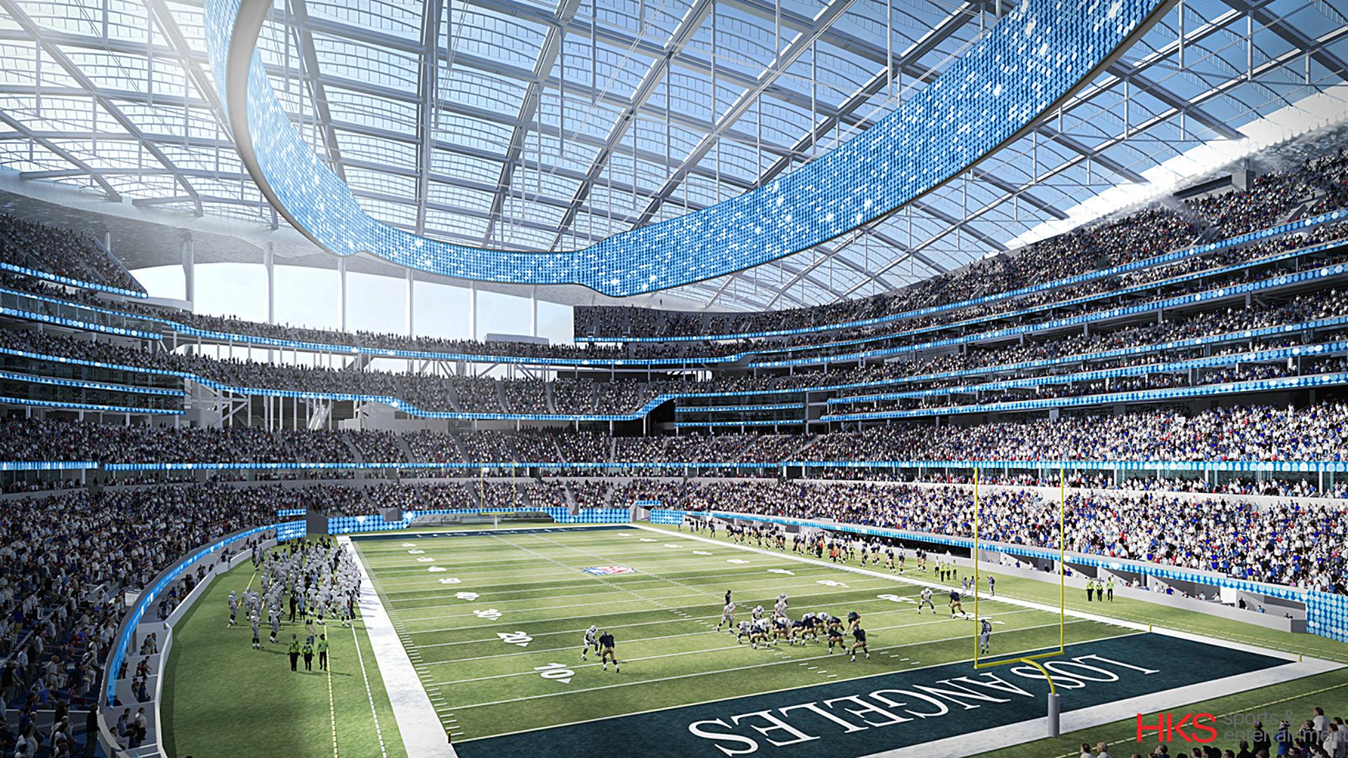 Image Gallery Los Angeles Rams Stadium