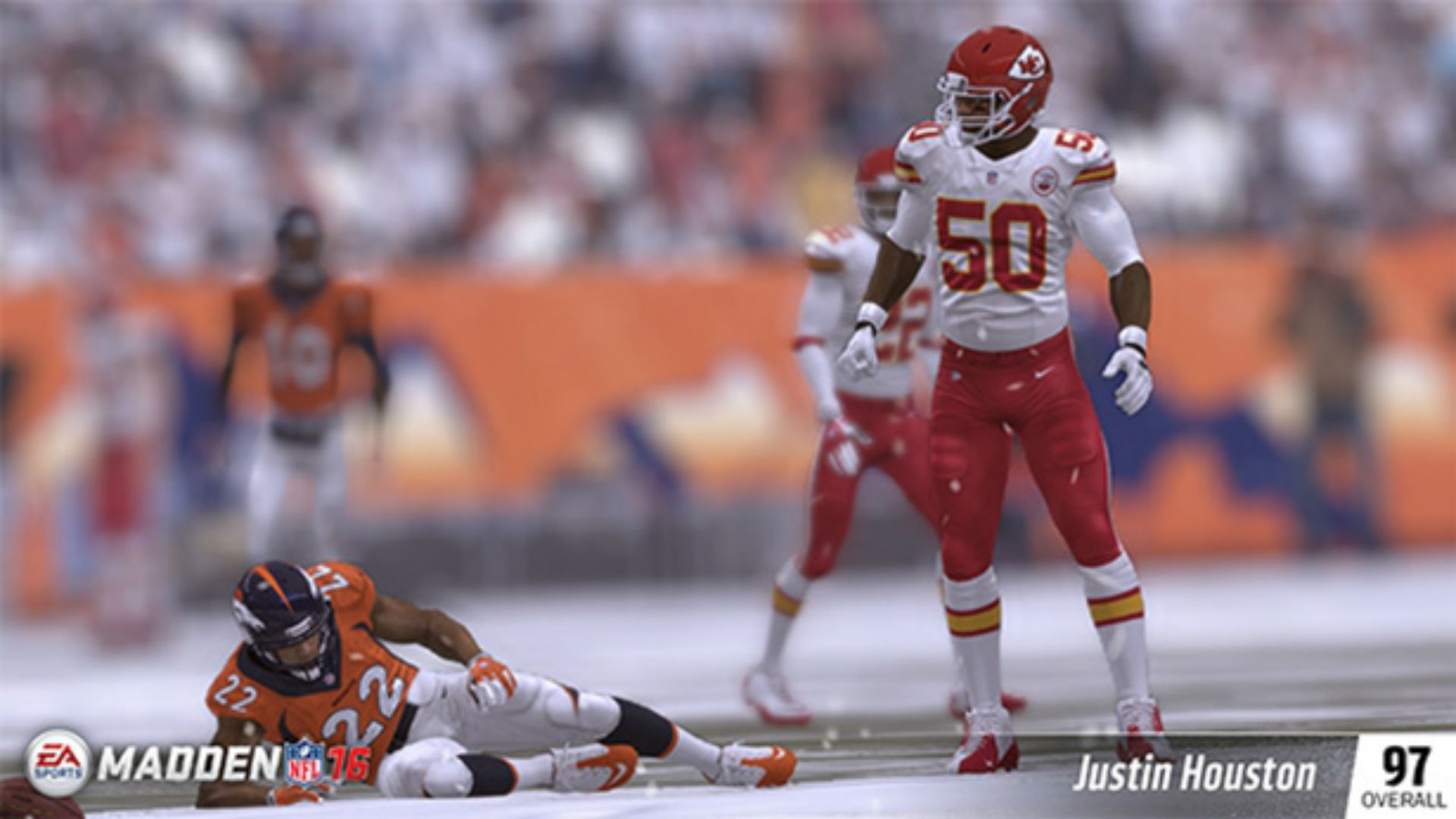 Top rated linebackers revealed for Madden NFL 16