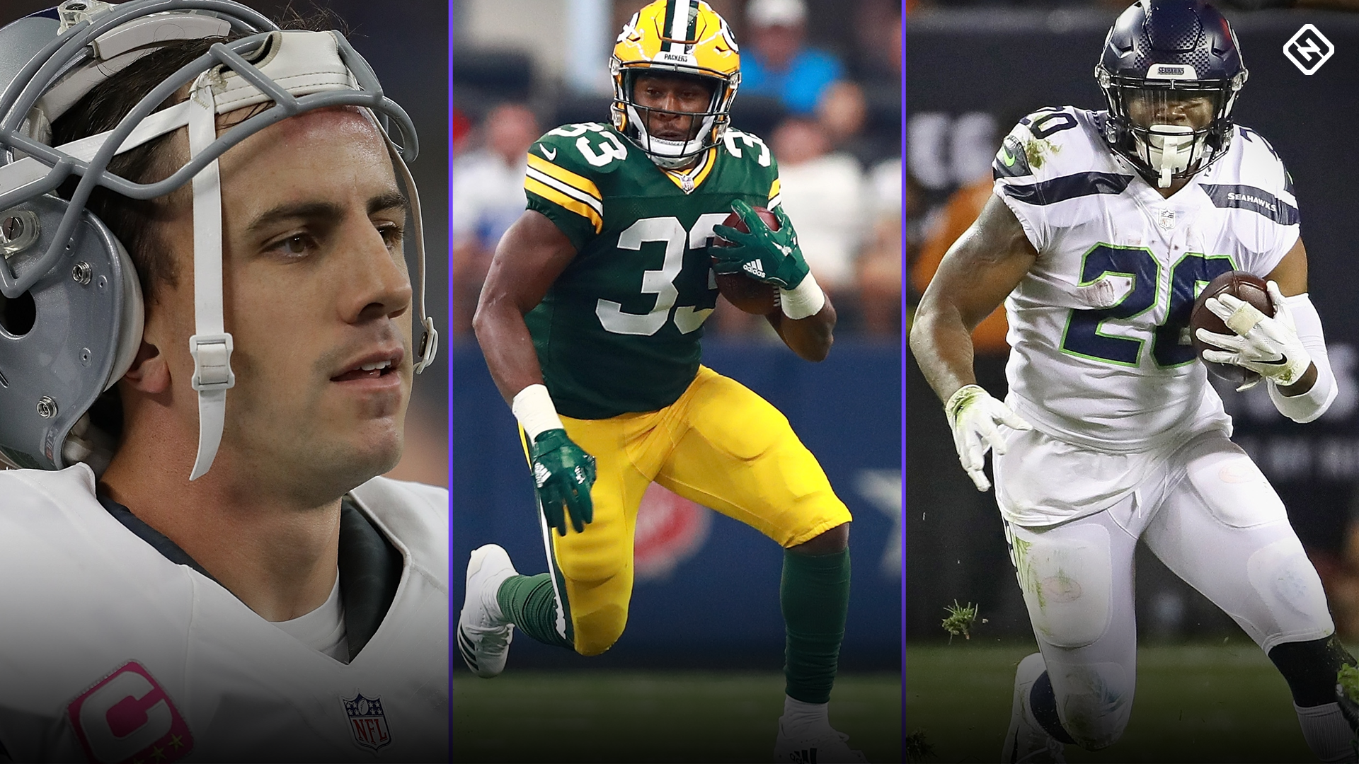 Fantasy Football Waiver Wire Week 3: Don't forget about Dan Bailey, Aaron Jones, Rashaad Penny, more potential free agent pickups