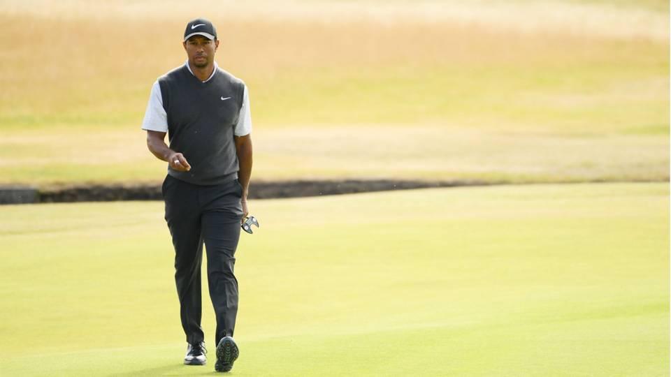 Tiger Woods' score: Round 2 highlights from WGC-Bridgestone Invitational