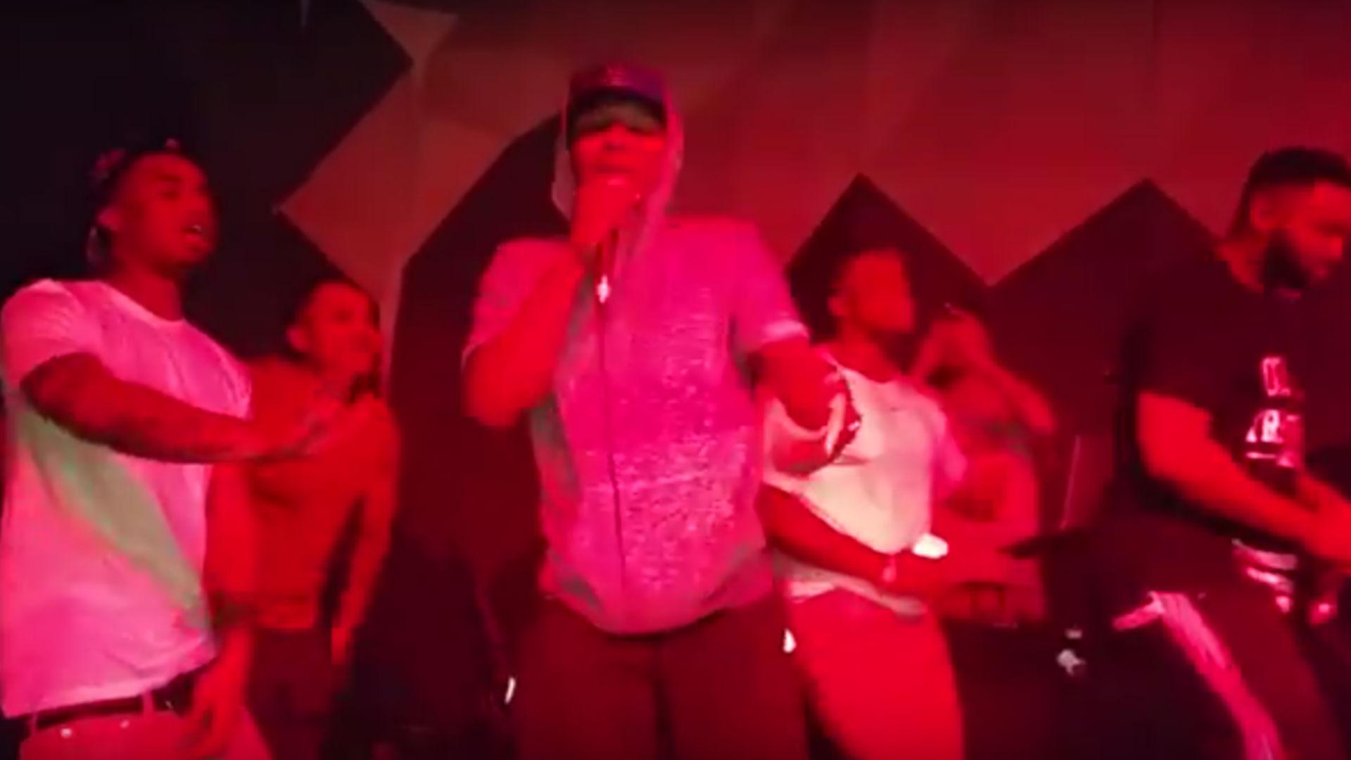 Damian Lillard rapping FTR