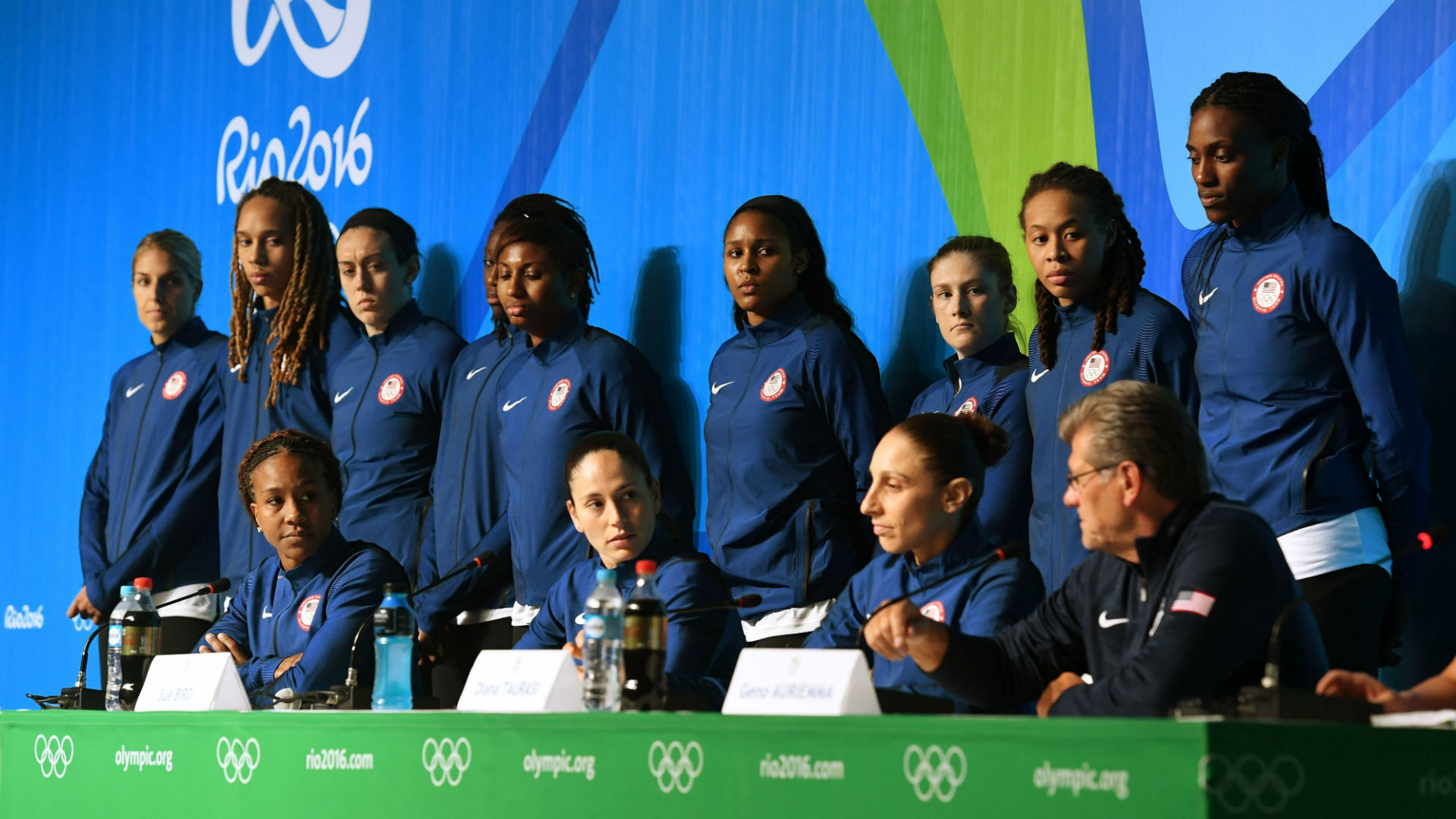 United States beats Spain in Olympic women's basketball 2nd round