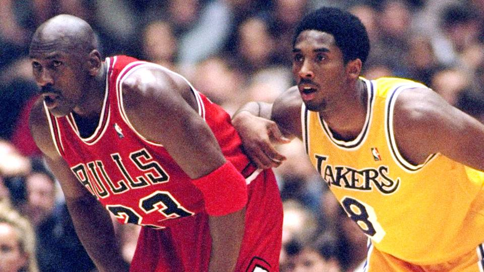 6e9ae9e6904 Kobe Bryant passes Michael Jordan for No. 3 on all-time scoring list ...