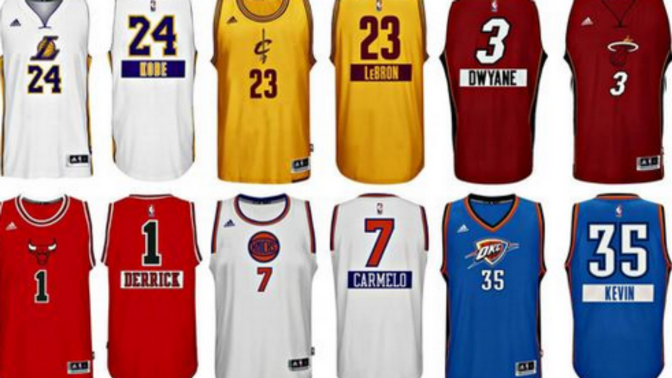 62925a3e1d82 NBA Christmas jerseys have first names on back