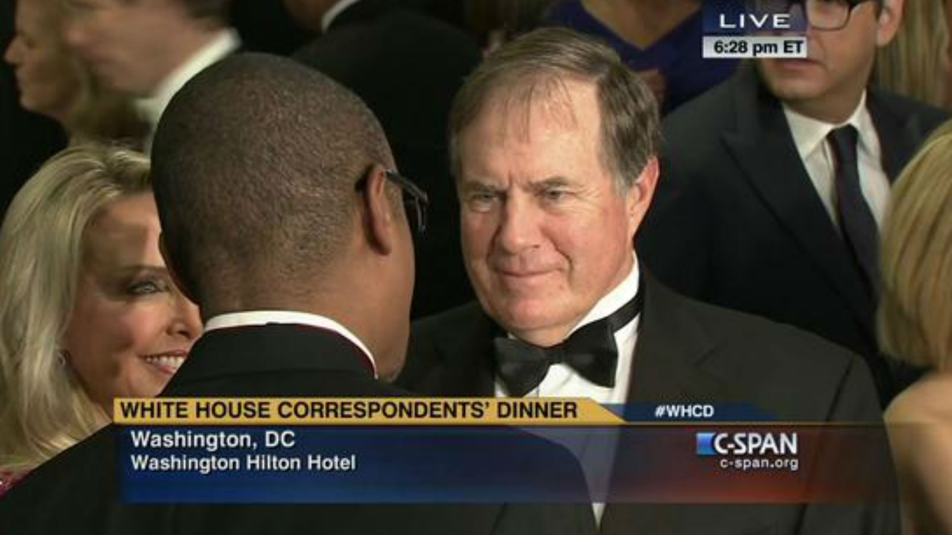 NFL takes over White House Correspondents' dinner