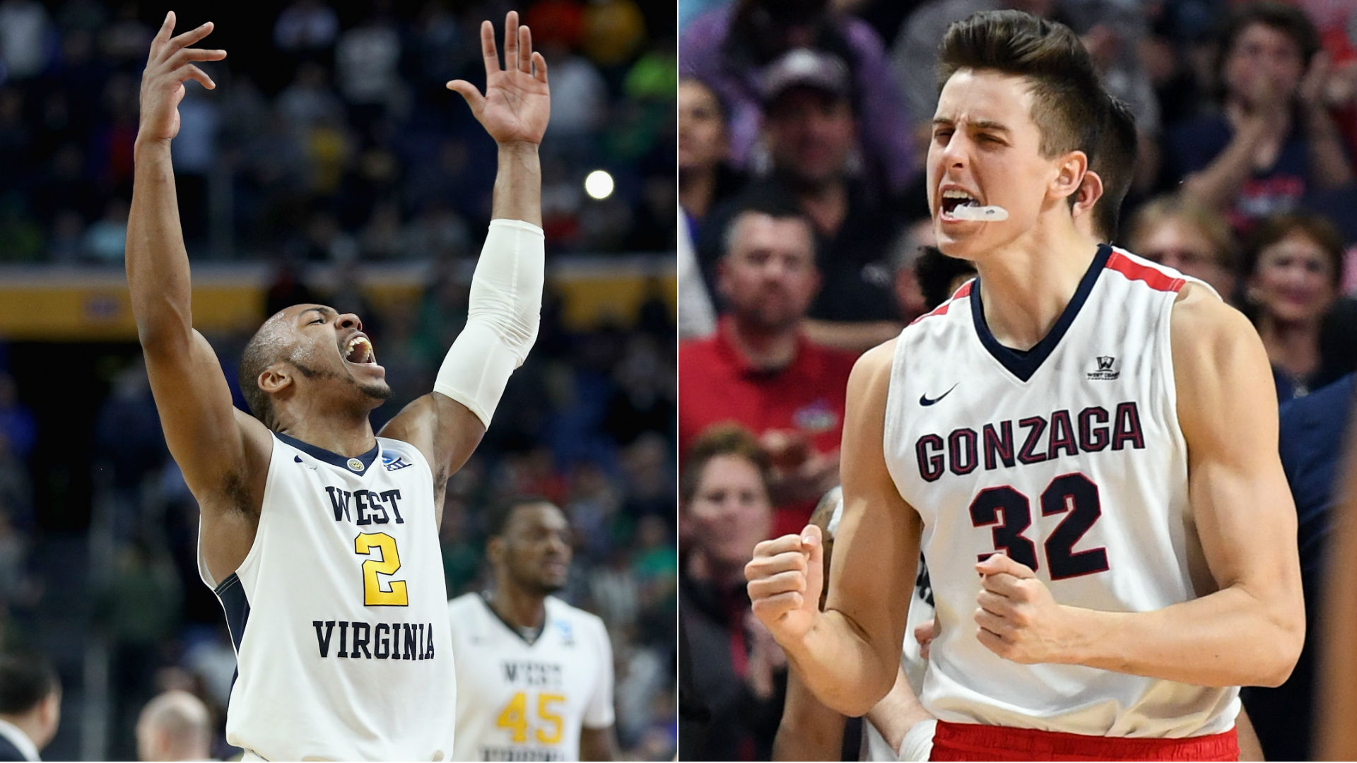 1-seeds Kansas, Gonzaga top Thursday's NCAA Sweet 16 slate