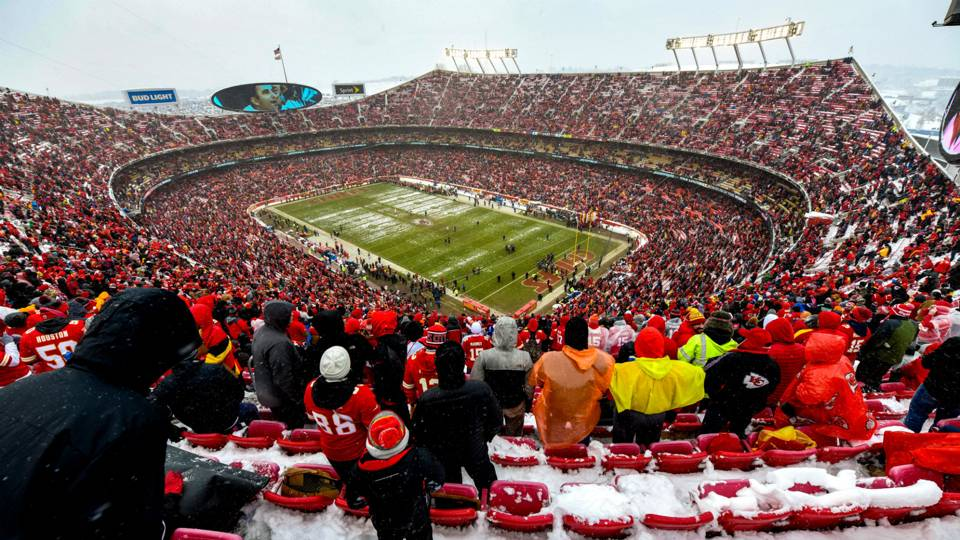 Chiefs weather forecast  Kansas City will be cold (but not that cold) for  AFC championship game · NFL 1c7bfd6d3