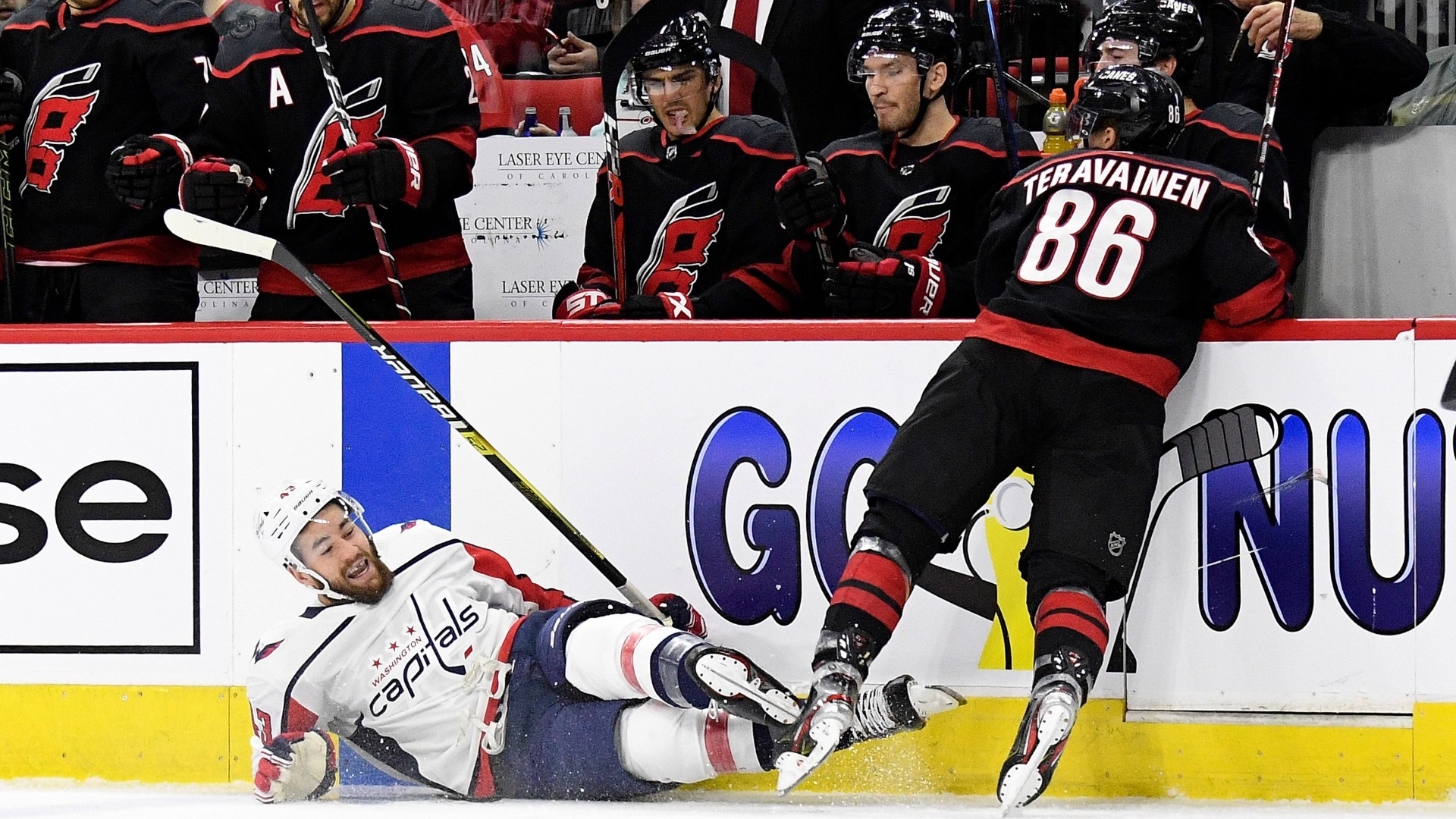 NHL Playoffs 2019: Hurricanes set defensive record in Game 3 win over Capitals