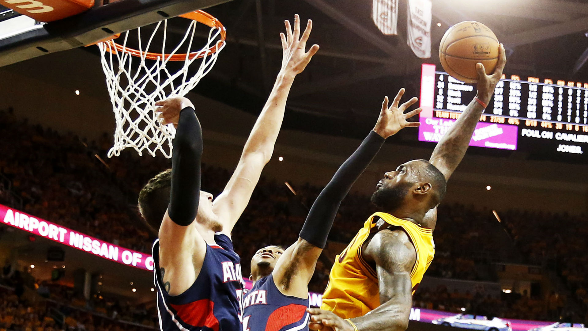 Cavaliers come out on top in fierce Game 3, take 3-0 series lead