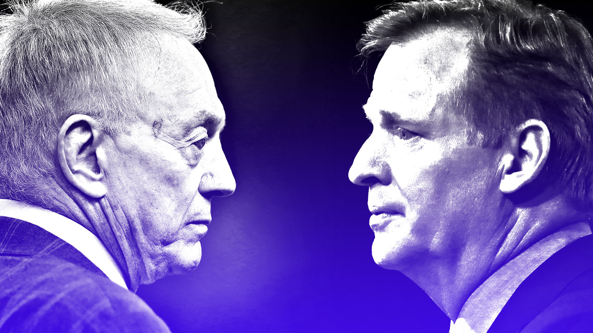 Jerry Jones vs. Roger Goodell: Direction of NFL at stake in epic power struggle
