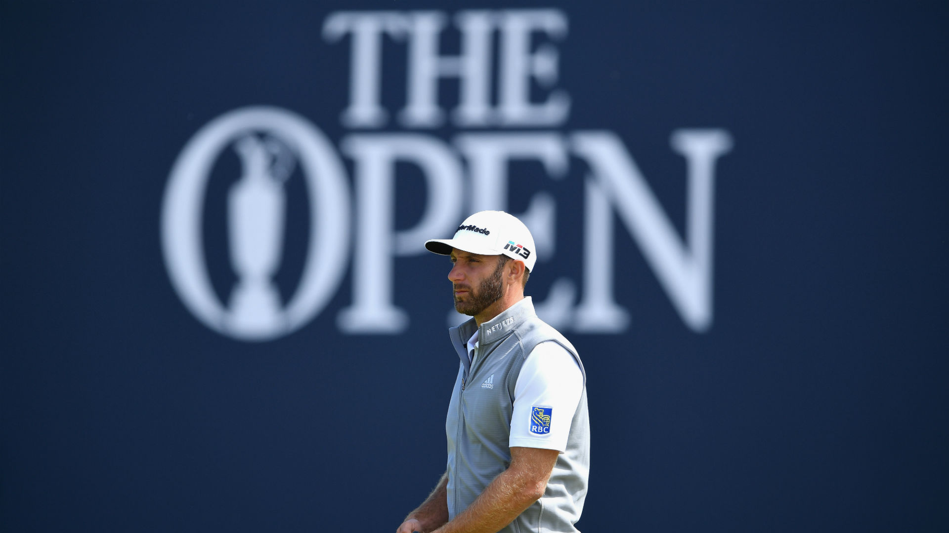Dustin Johnson to tee off as betting favourite on British Open odds