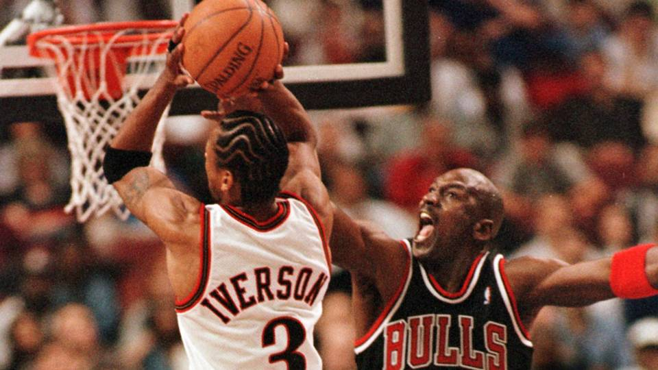 Allen Iverson knew in high school that he was ready to play Michael Jordan 732e53155