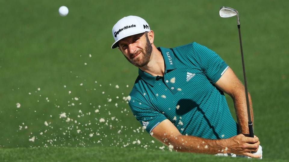 Image result for . Dustin Johnson withdraws from Masters with back injury