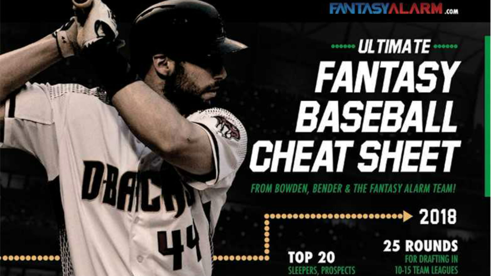 Perfect your draft strategy with Fantasy Alarm's Ultimate Fantasy Baseball Cheat Sheet