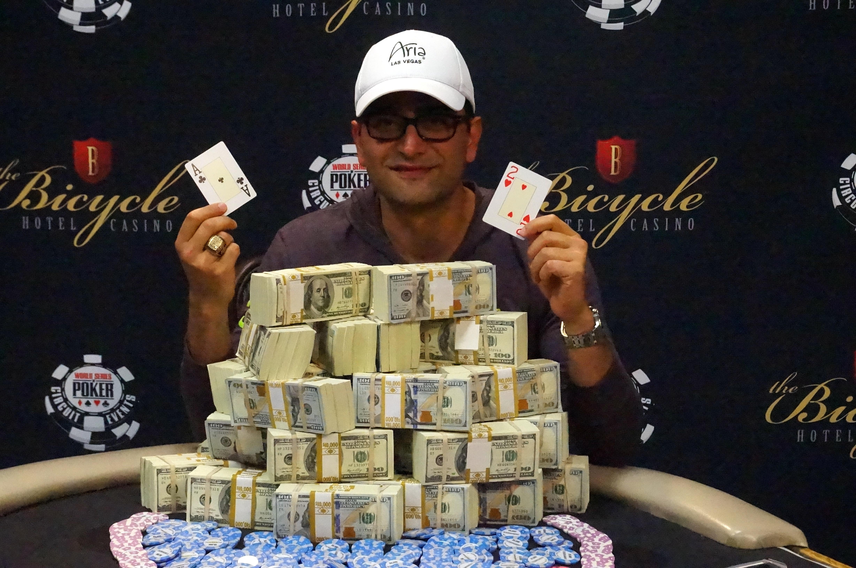 Самый большой выигрыш в истории покера 28 фотография