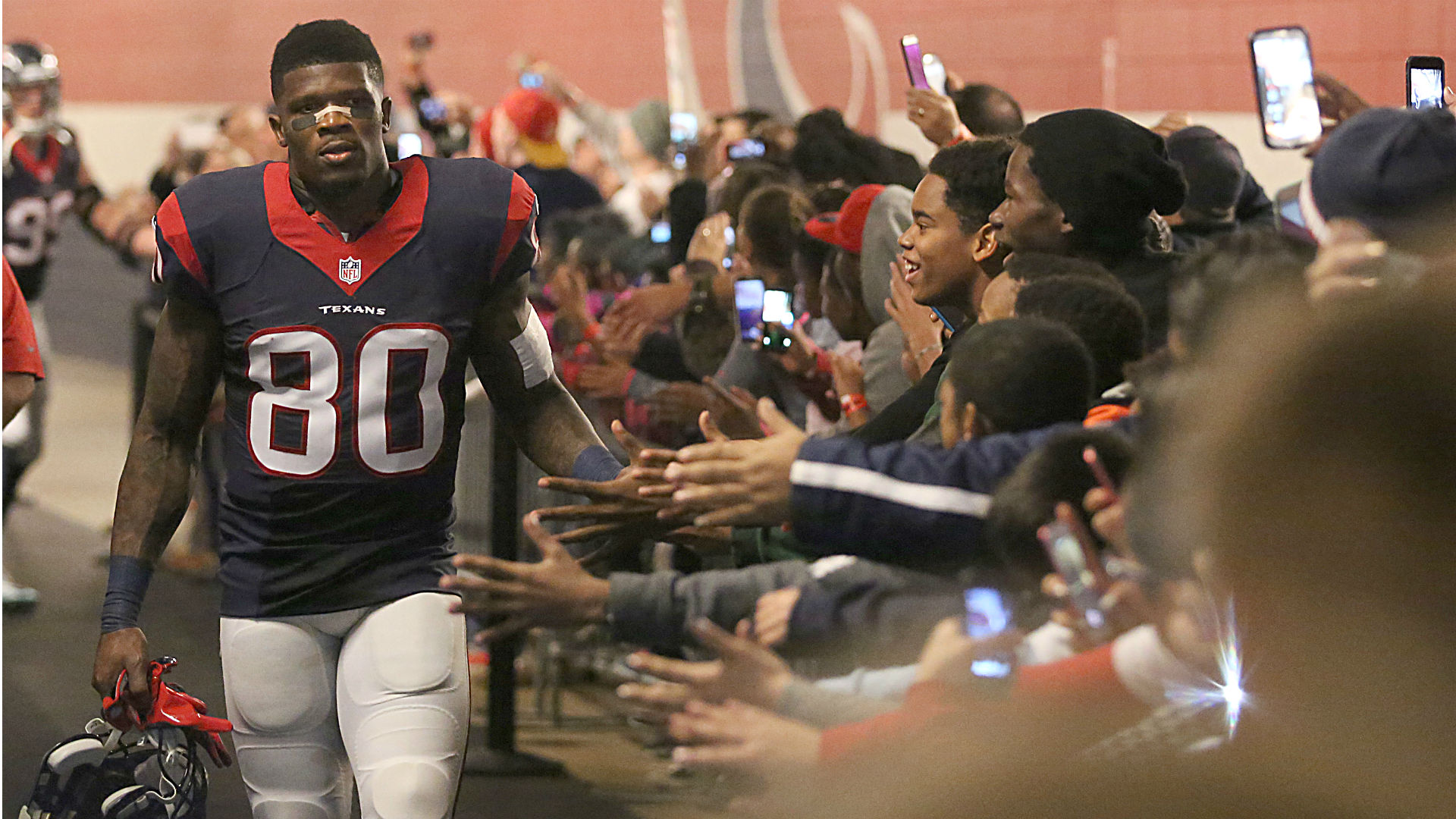Andre Johnson told Bill O'Brien 'trade or release me' after fateful conversation