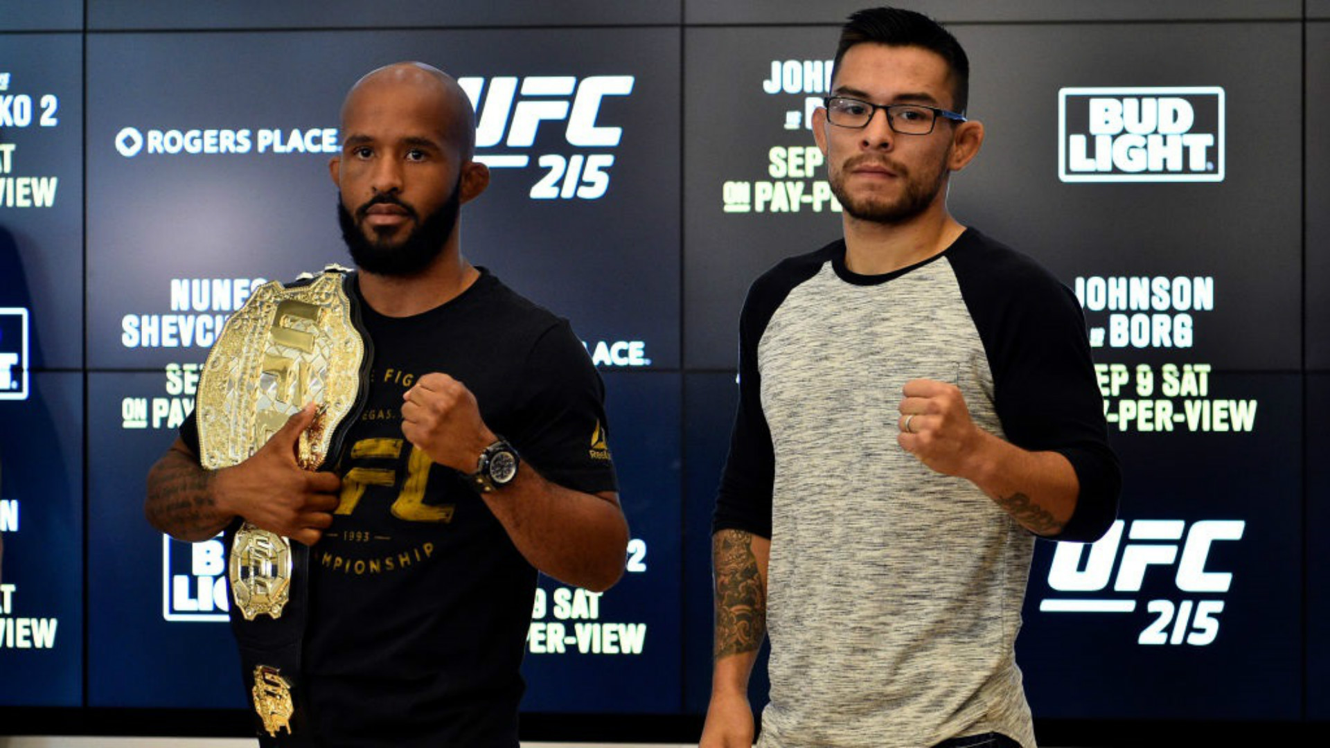 2 title bouts headline UFC 216 in Vegas after shooting