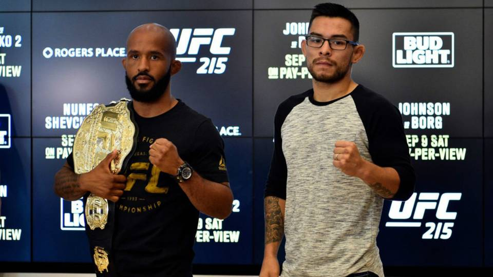 Demetrious vs Ray Borg UFC 215