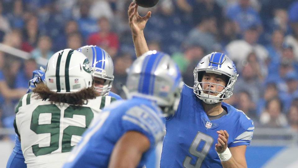 Jets vs. Lions: Score, live updates from Monday night game