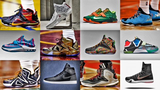 NBA players  unique shoe choices during games  bbe29b88ca