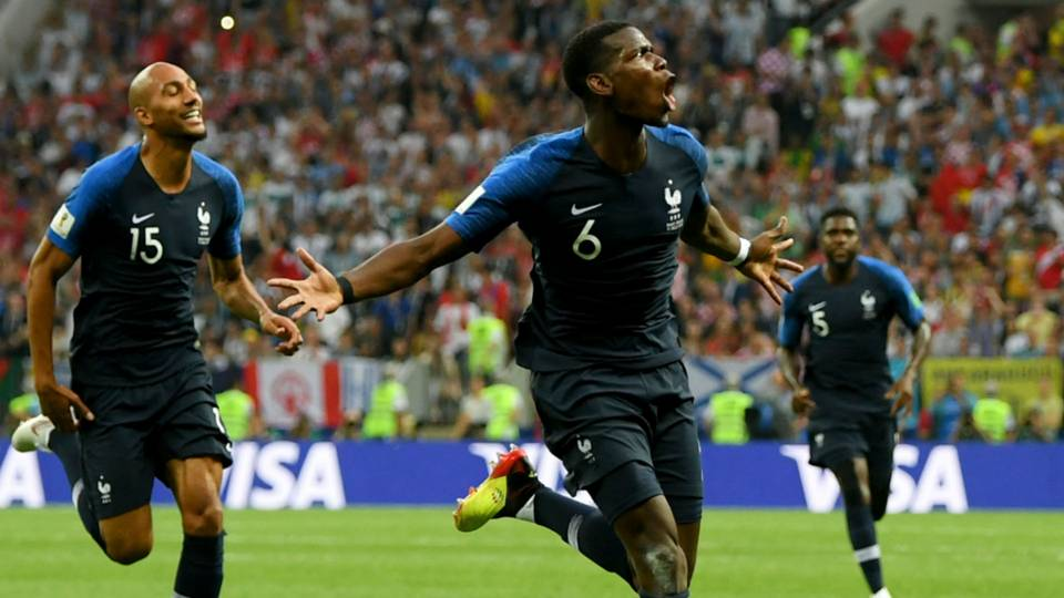 World Cup 2018: Patrice Evra demands respect for Paul Pogba after goal
