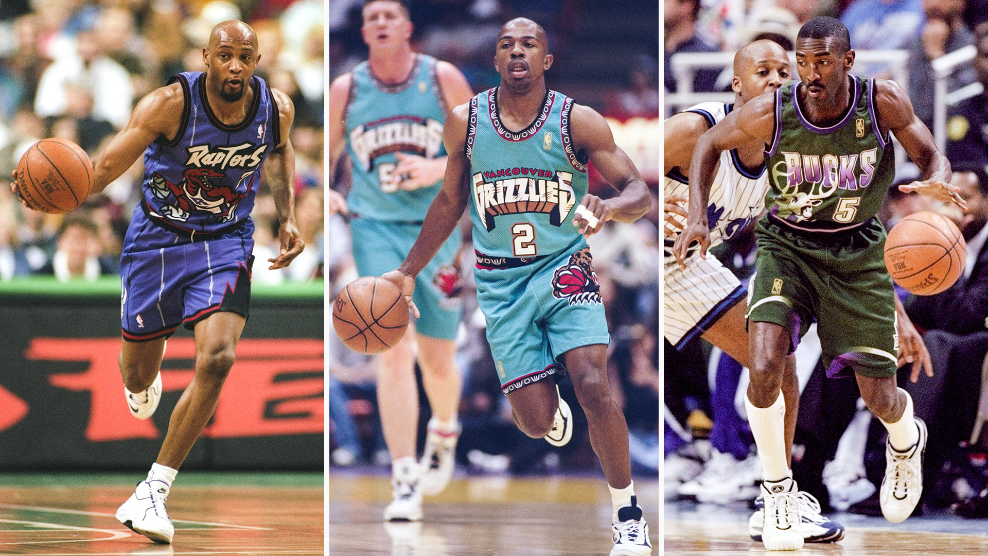 1990s NBA uniforms, ranked from cartoonish best to technicolor worst