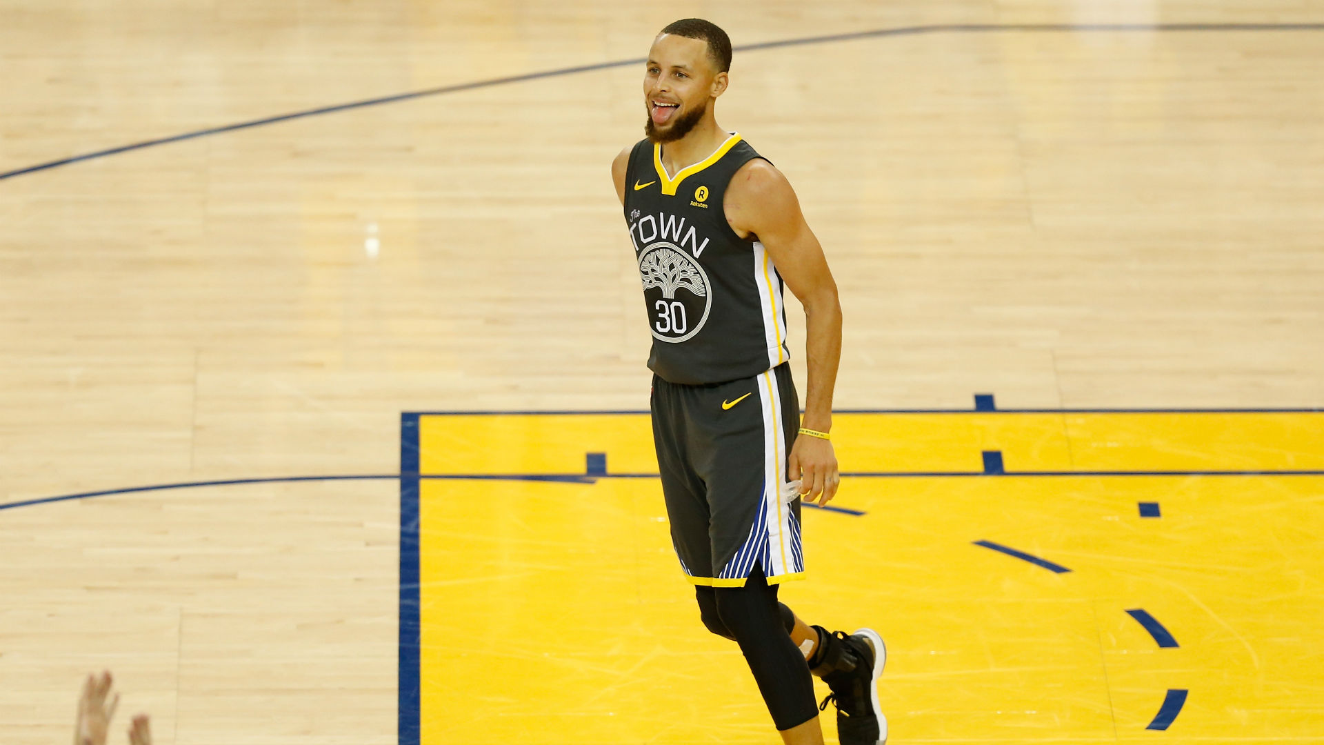George Hill's ideal explanation for some of Stephen Curry's three-pointers