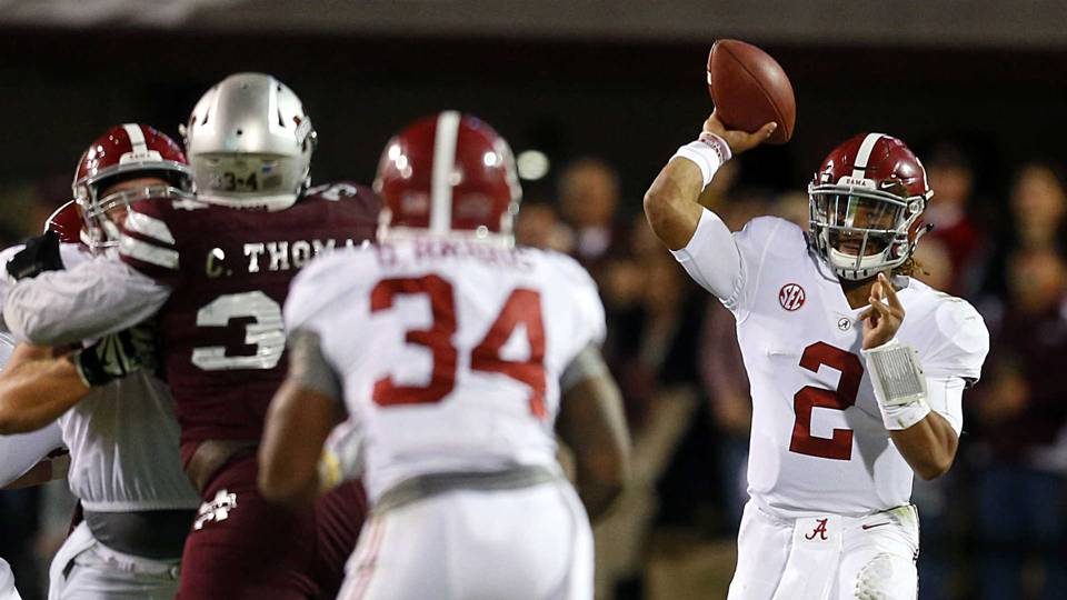 Five Takeaways From Alabama S Near Loss Vs Mississippi State Ncaa