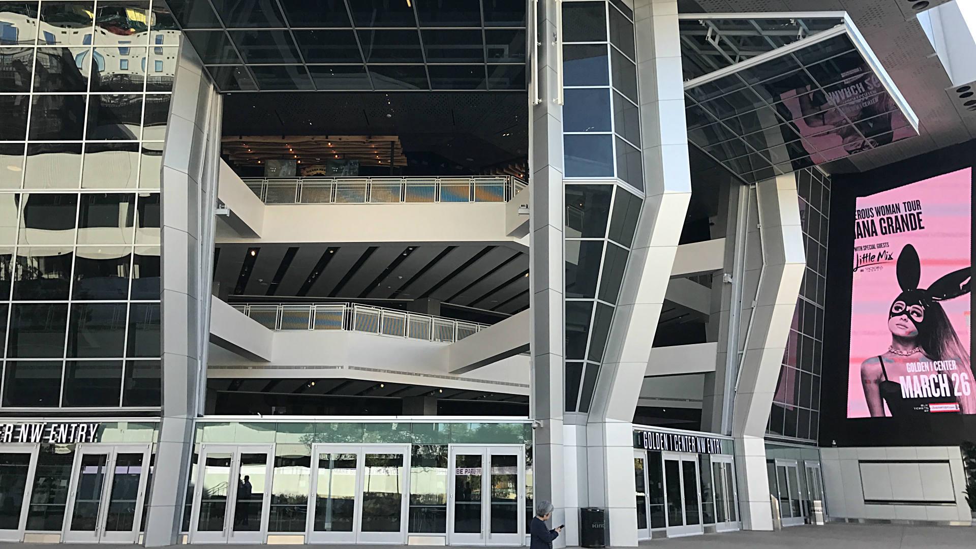 Sacramento kings tout nba 39 s first indoor outdoor arena for Golden rule garage door