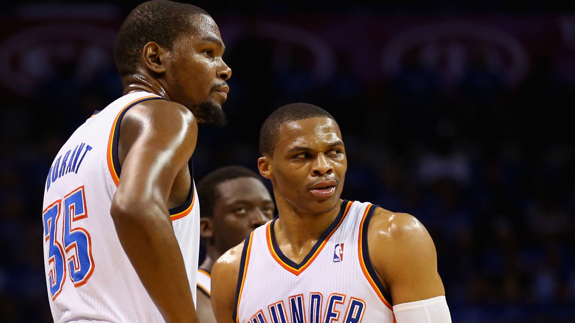 5b6bdded8aab Russell Westbrook reportedly  angry  and  hurt  Kevin Durant didn t call  before decision