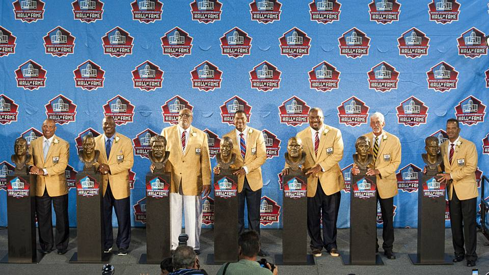 nfl hall of fame inductees odds on nfl football