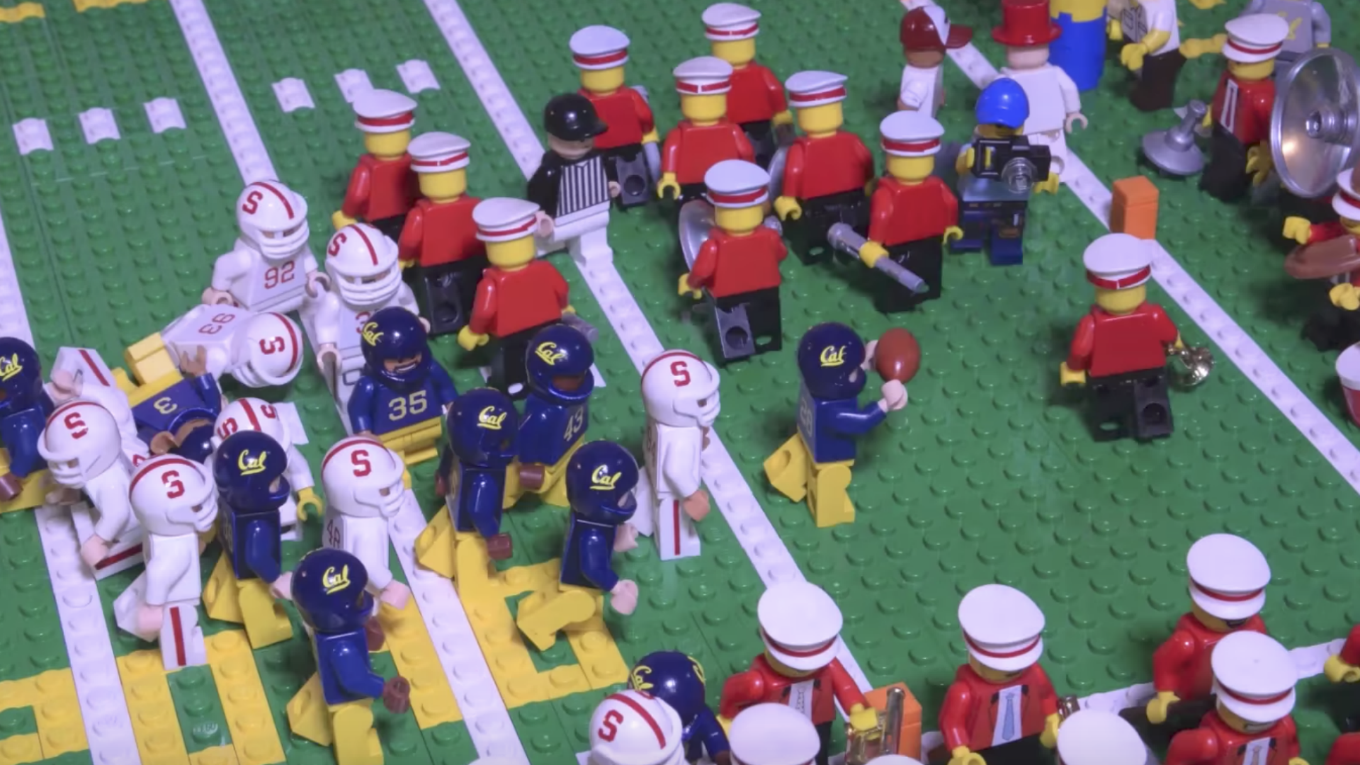 'The Play' gets amazing Lego recreation