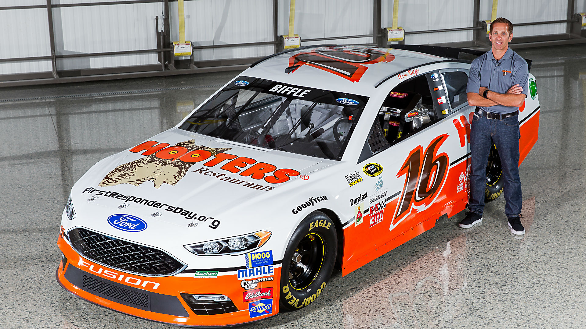 greg biffle teams with hooters for special throwback paint scheme rh sportingnews com