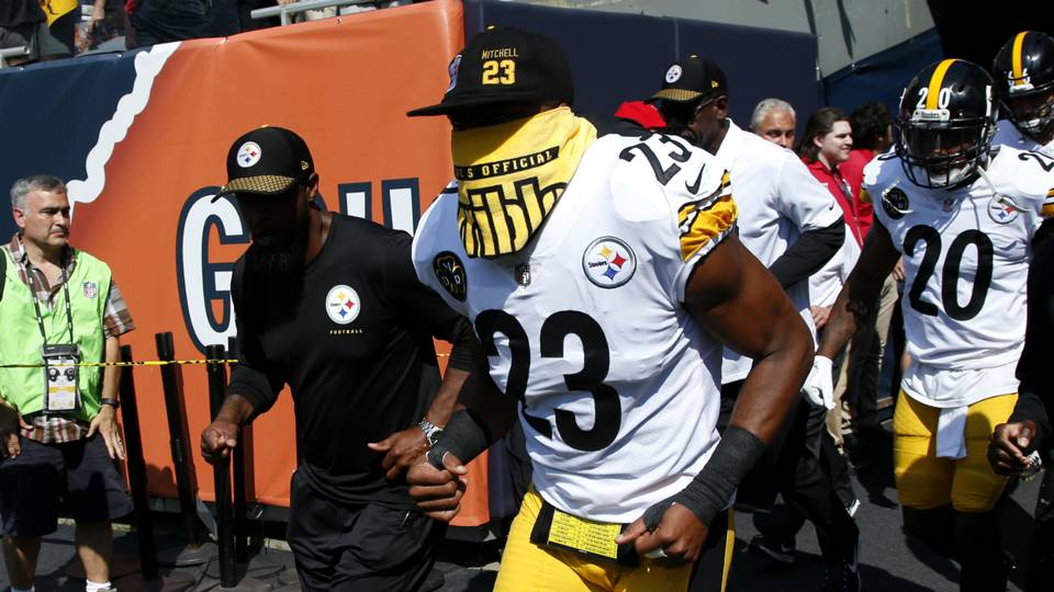 10c52da96c8 Steelers safety says Roger Goodell  has to go  after JuJu Smith-Schuster  suspension · NFL