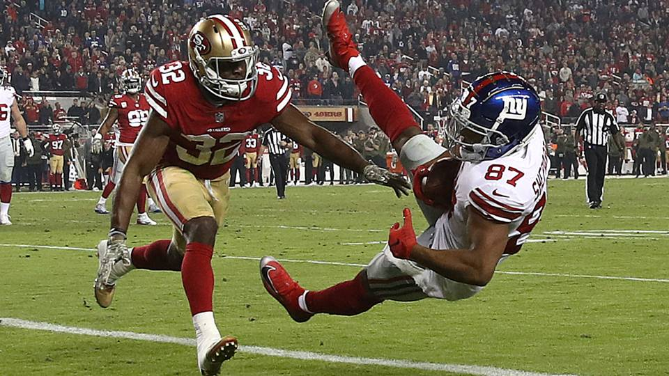 Giants Vs 49ers Results Score Highlights From Monday Night