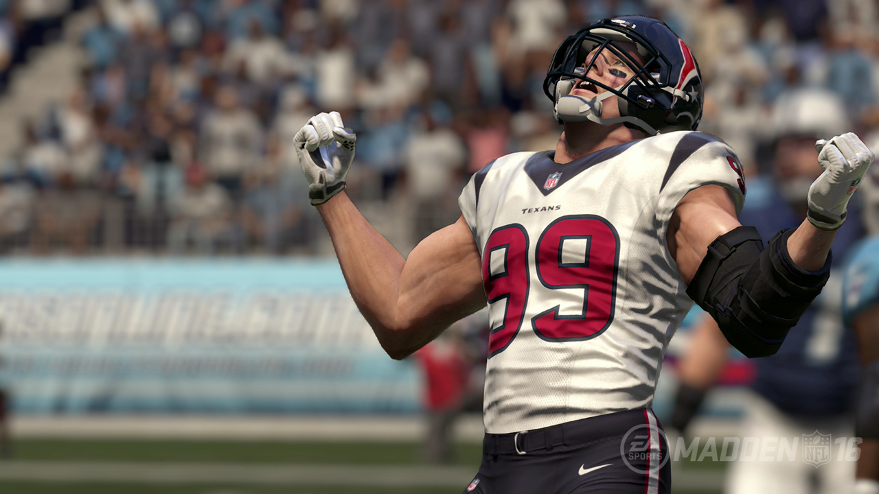 Watt clear No. 1 among 'Madden NFL 16' defensive linemen