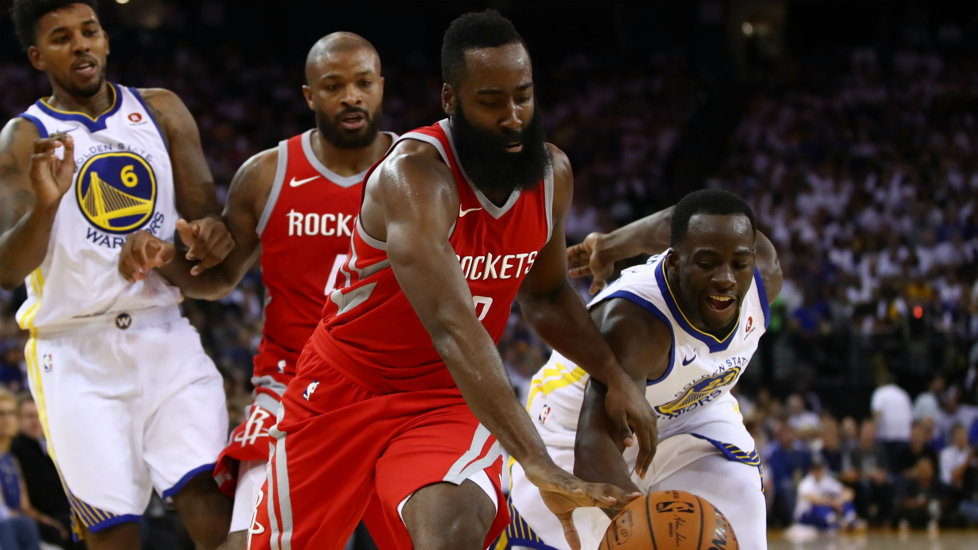 Warriors vs Rockets in NBA Western finals