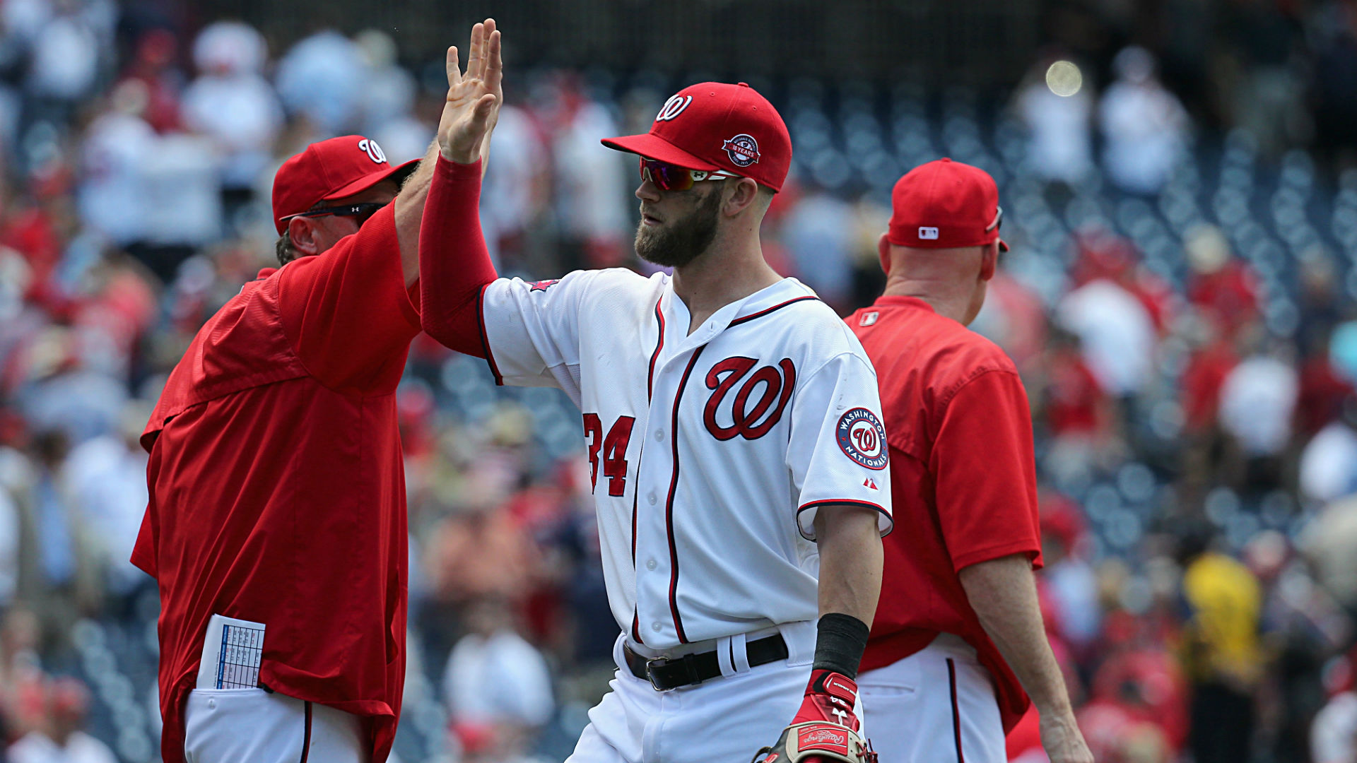 Bryce Harper: 'We're the team to beat, everybody knows that'