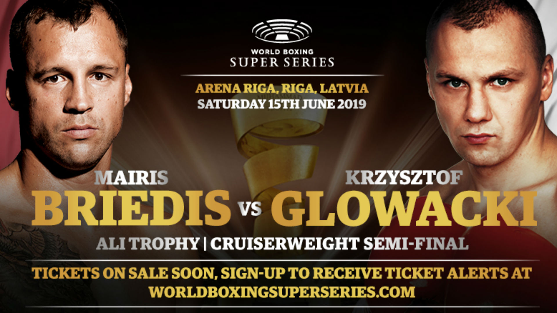 WBSS 2: Briedis vs. Glowacki fight set for June 15 in Latvia