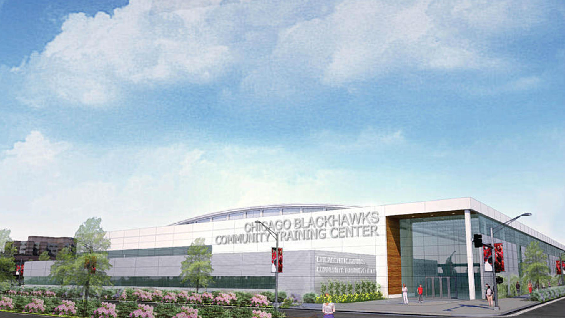 Blackhawks announce new practice facility project