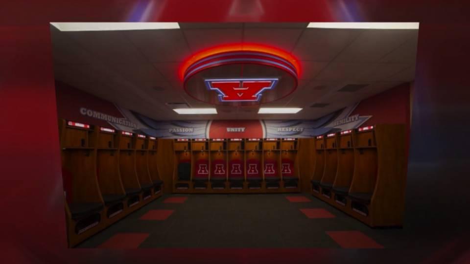 Wisconsin high school spends 662002 on upgrades to locker rooms