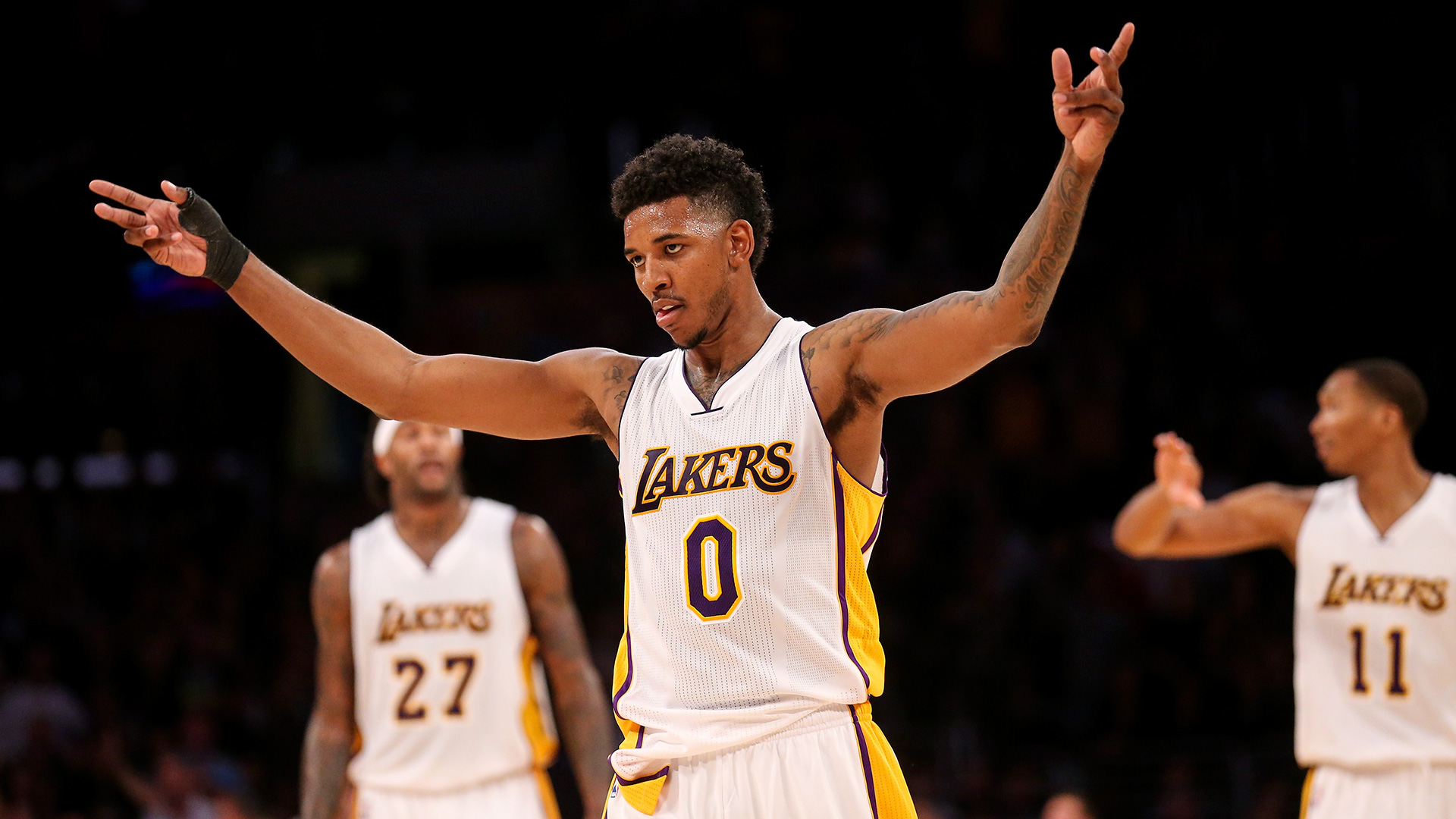 Nick Young talks 'Space Jam' sequel, calls Blake Griffin 'too beige' for lead role