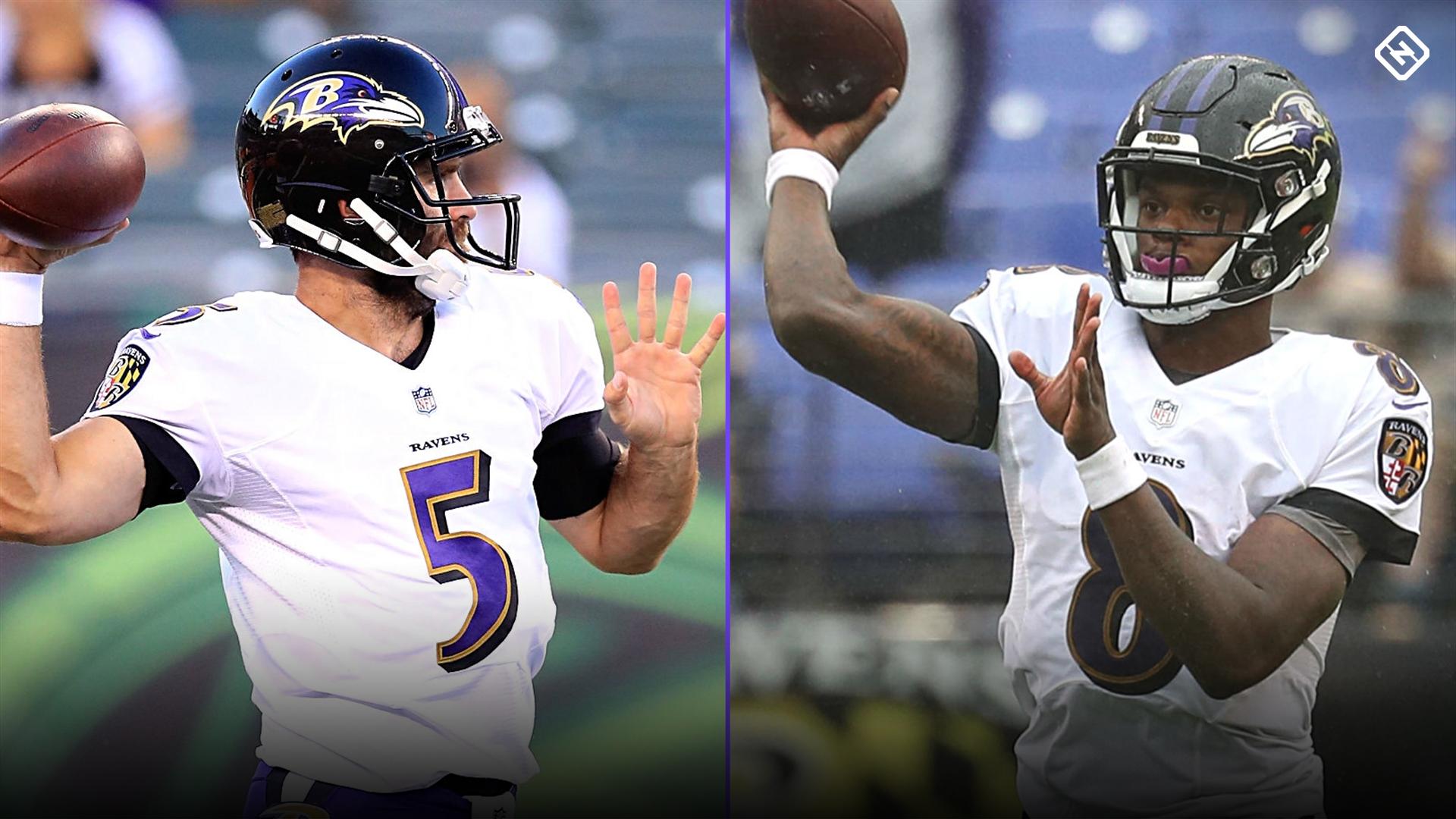 No, Ravens shouldn't play Lamar Jackson over Joe Flacco — for now, anyway