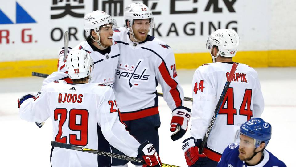NHL playoffs 2018  Capitals continue road success a1651641c08
