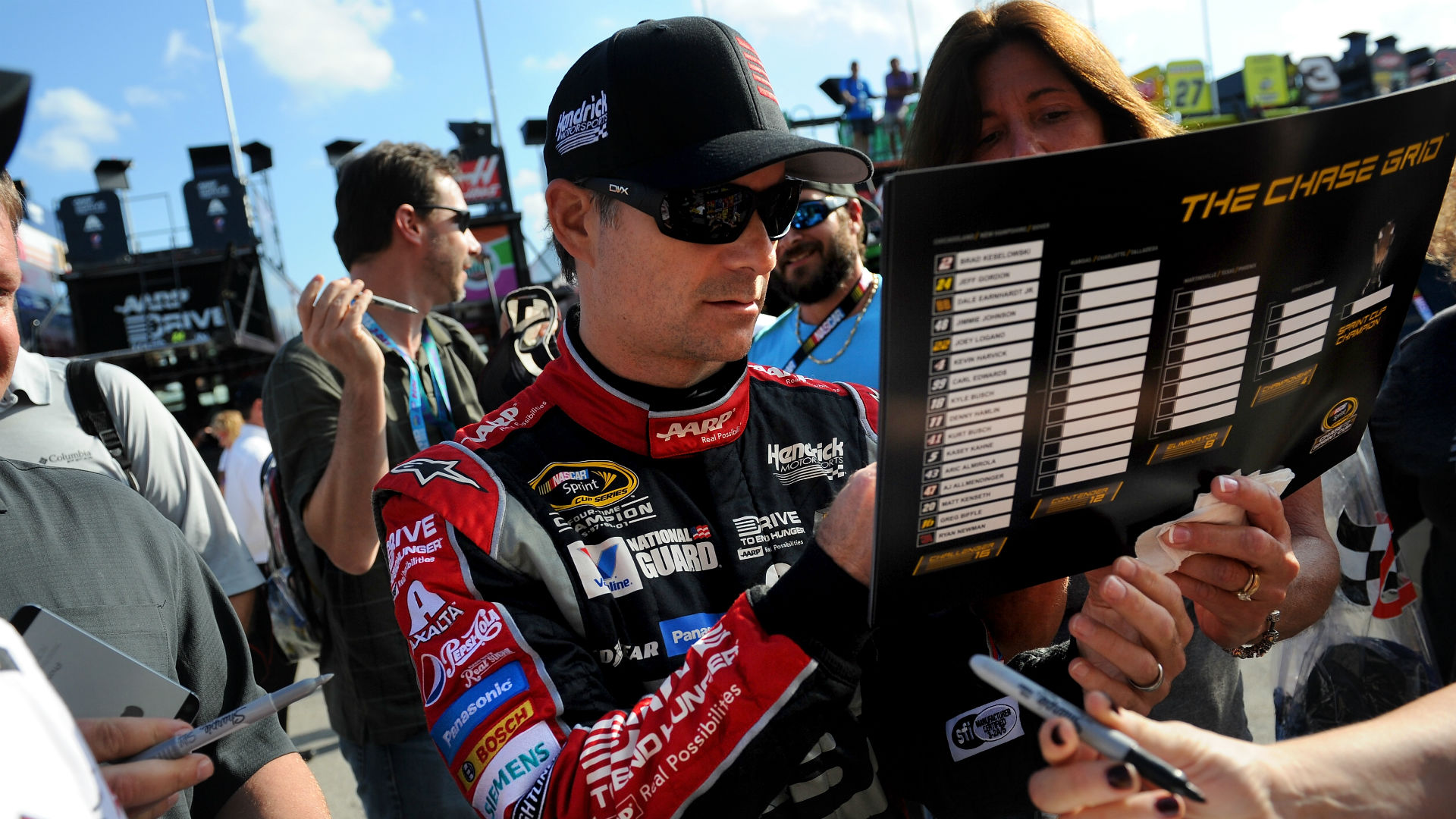 when will jeff gordon be inducted into nascar hall of fame nascar sporting news. Black Bedroom Furniture Sets. Home Design Ideas
