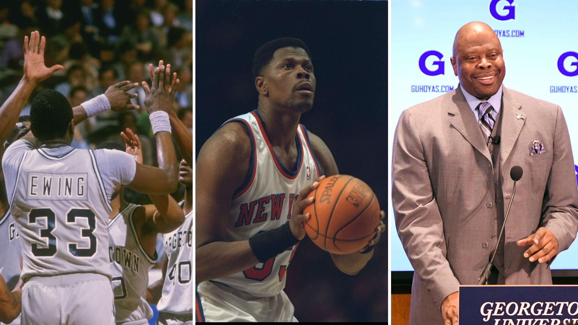 Patrick Ewing s career es full circle with return to Geor own