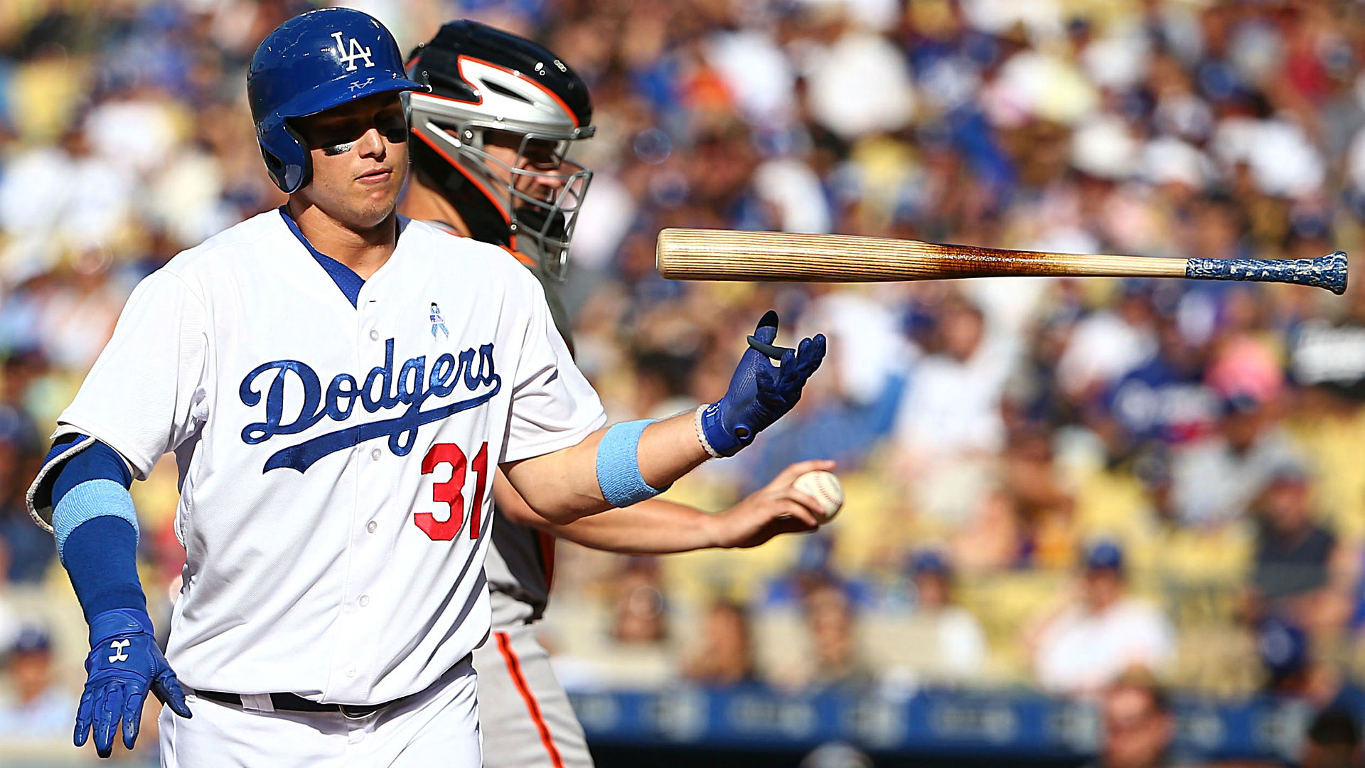 Strikeouts may force Joc Pederson out of Dodgers' leadoff spot