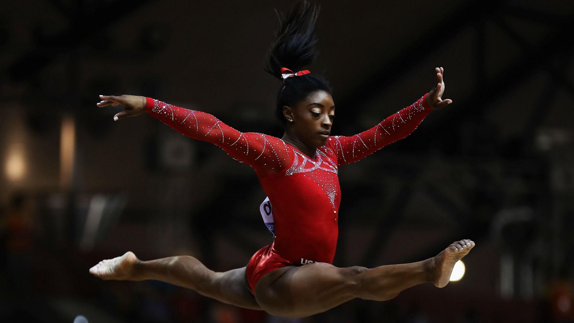 Simone Biles on DAZN: How to watch, live stream The Superstars of Gymnastics