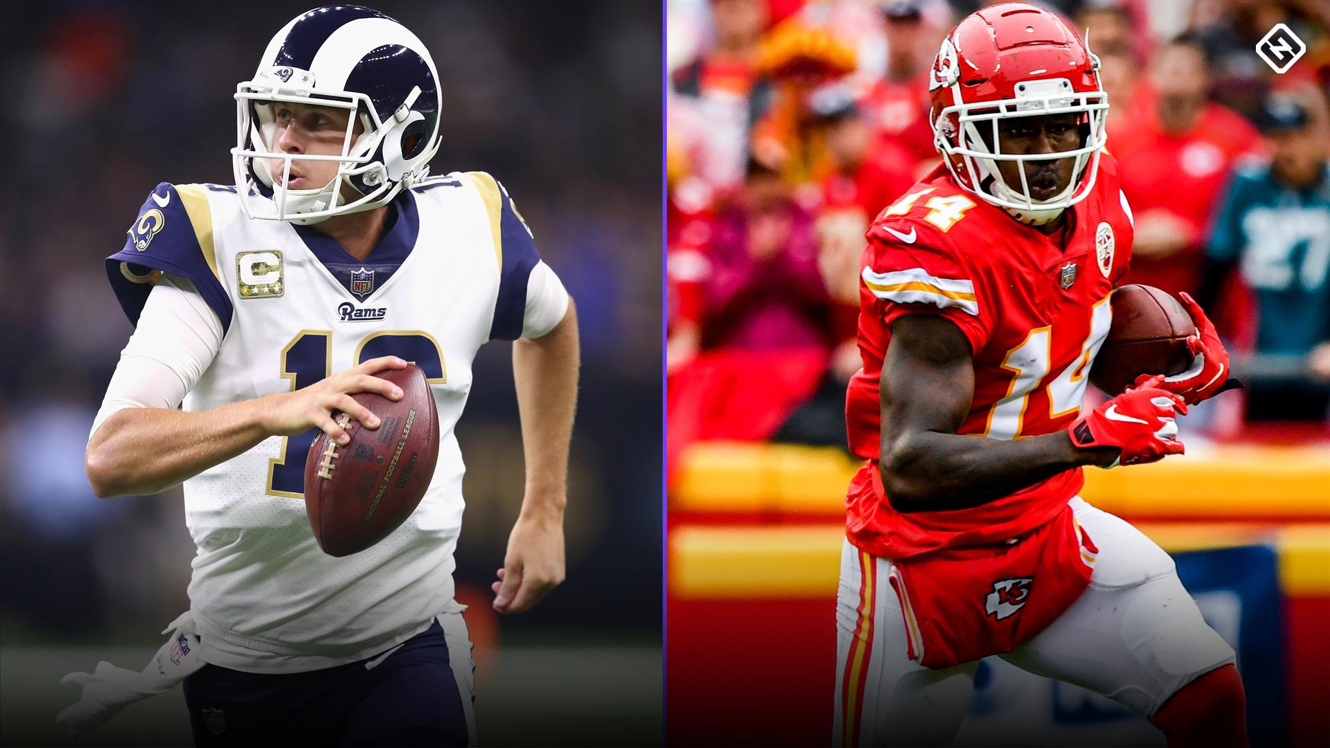 Fantasy Football Start 'Em Sit 'Em Week 11: Go all-in on offense-heavy Chiefs-Rams battle